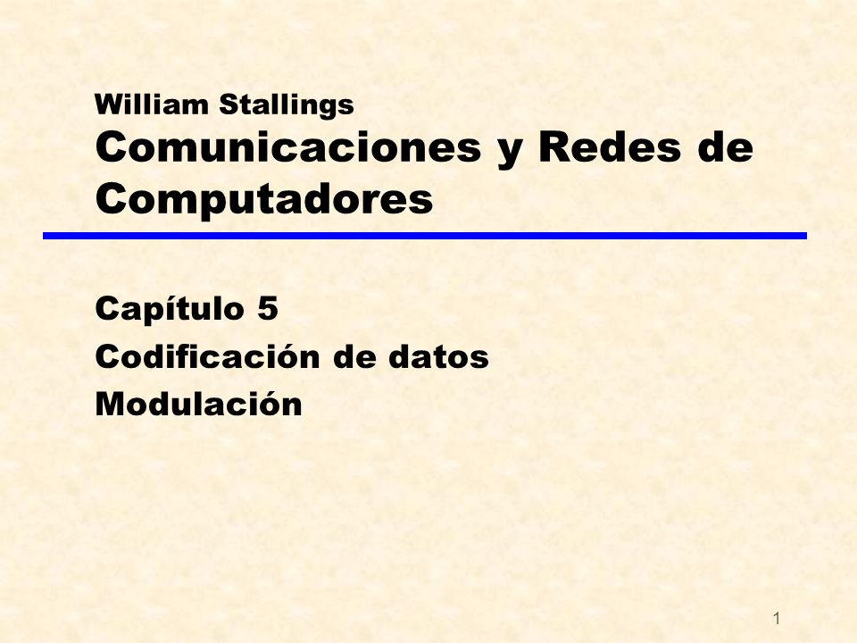 William Stallings Comunicaciones y Redes de Computadores