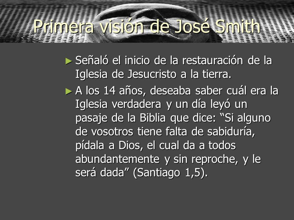 Primera visión de José Smith