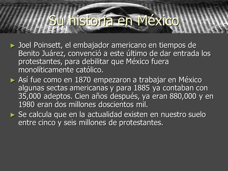 Su historia en México
