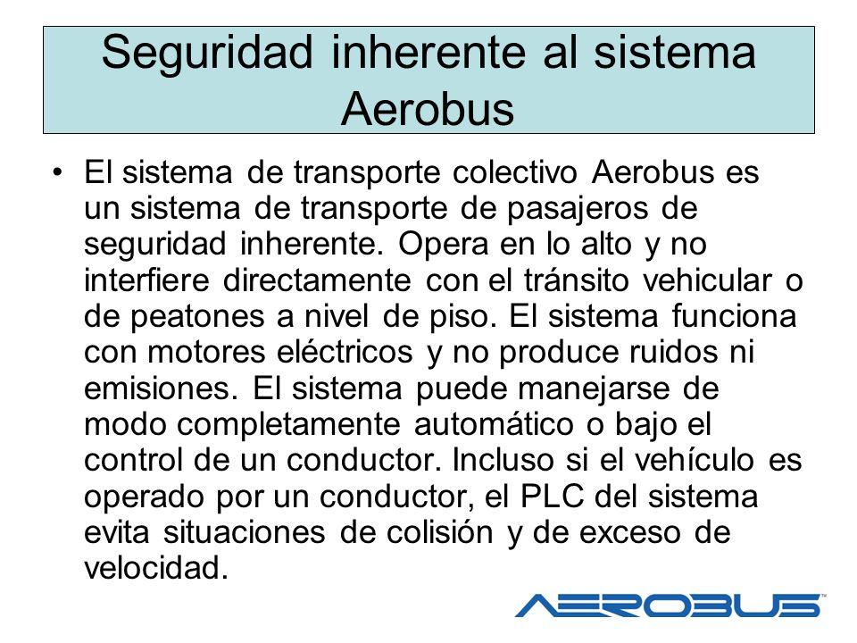 Seguridad inherente al sistema Aerobus