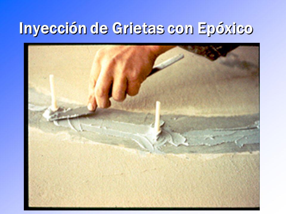 Inyección de Grietas con Epóxico