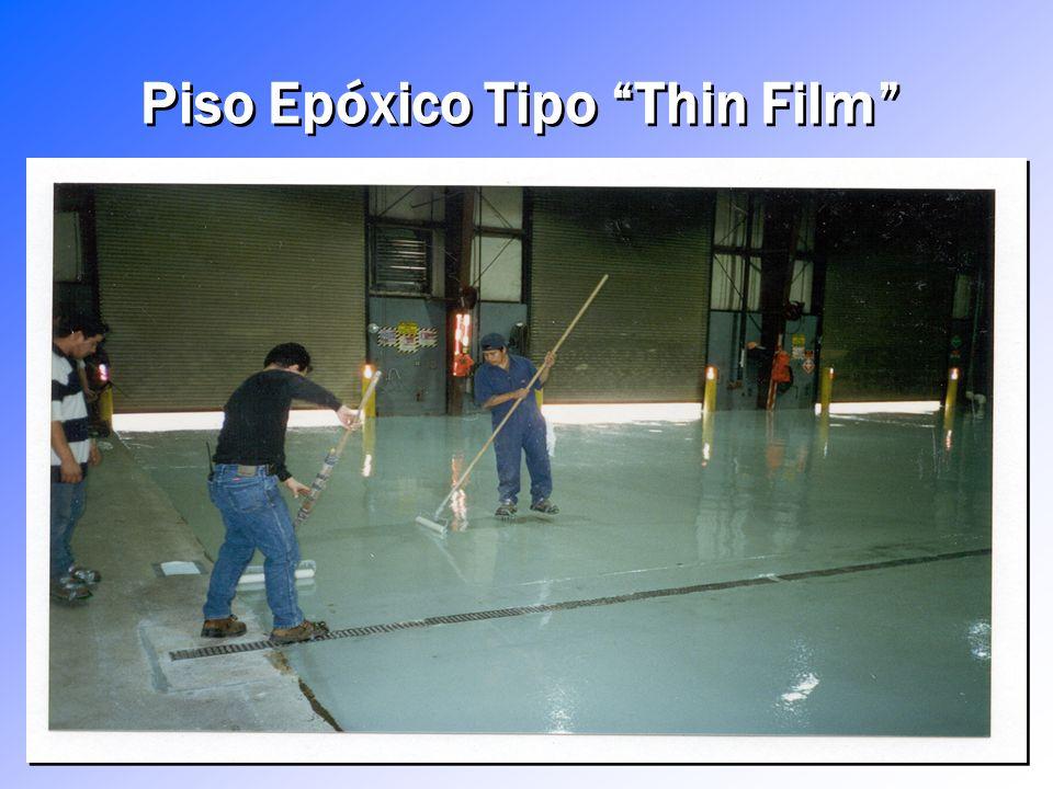 Piso Epóxico Tipo Thin Film