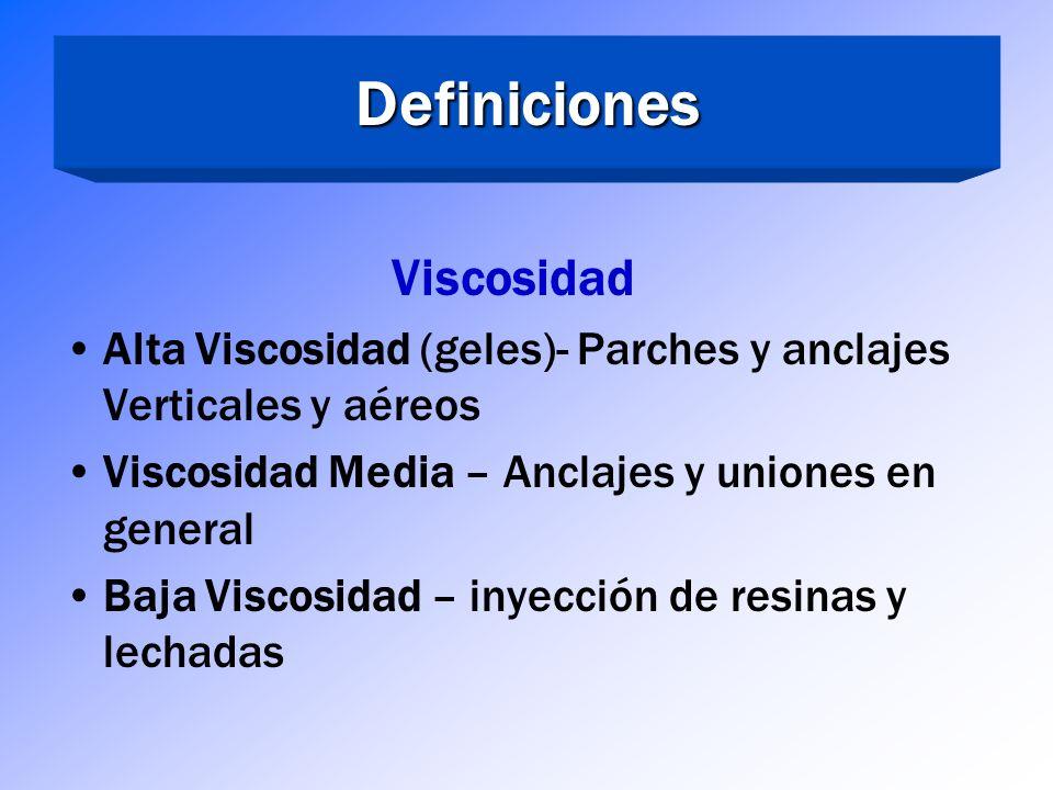 Definiciones Viscosidad
