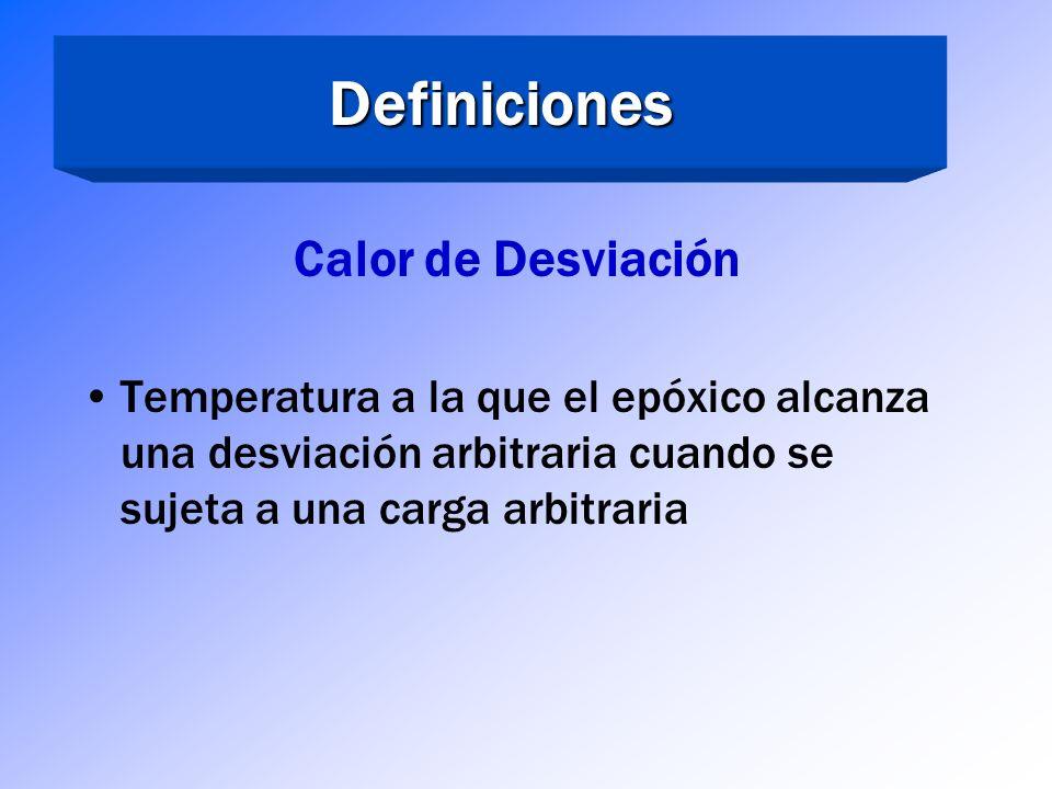 Definiciones Calor de Desviación
