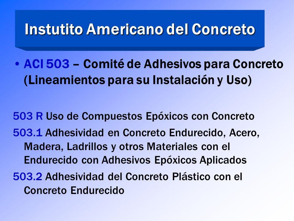 Instutito Americano del Concreto