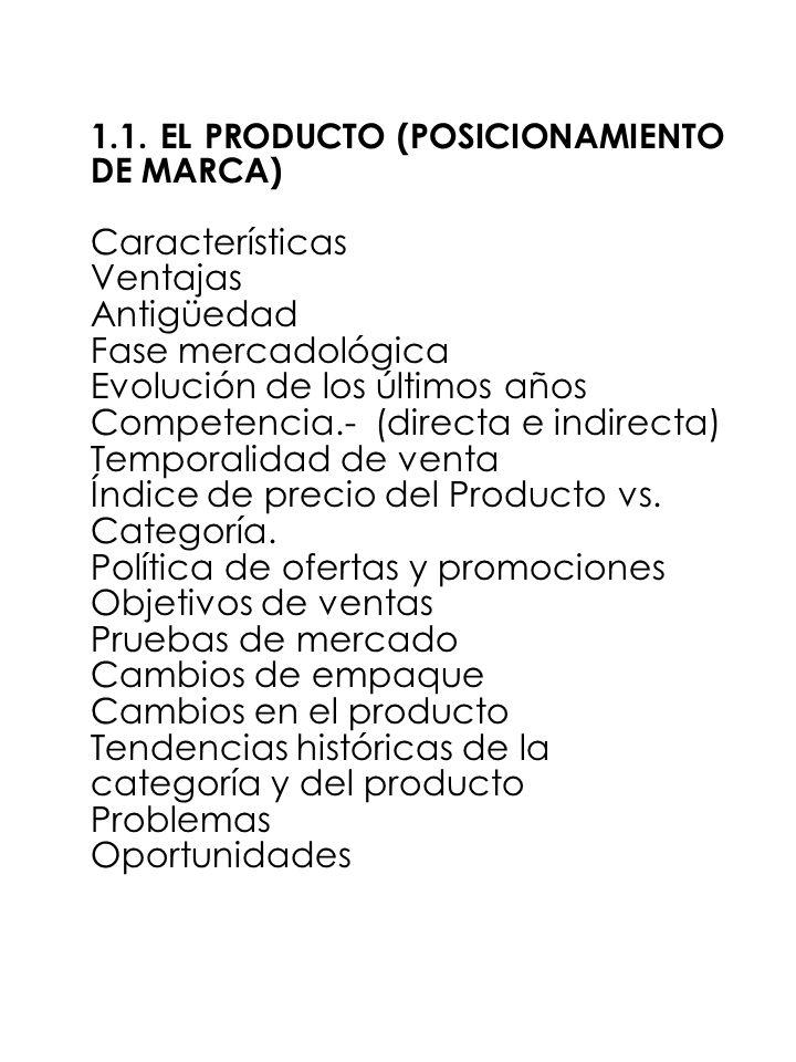 Evolución de los últimos años Competencia.- (directa e indirecta)
