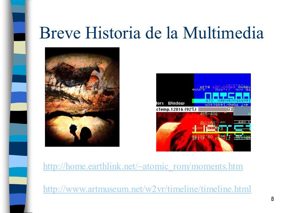 Breve Historia de la Multimedia