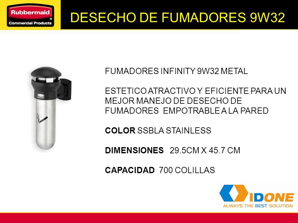 DESECHO DE FUMADORES 9W32 FUMADORES INFINITY 9W32 METAL