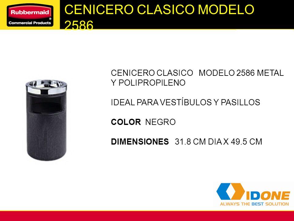CENICERO CLASICO MODELO 2586