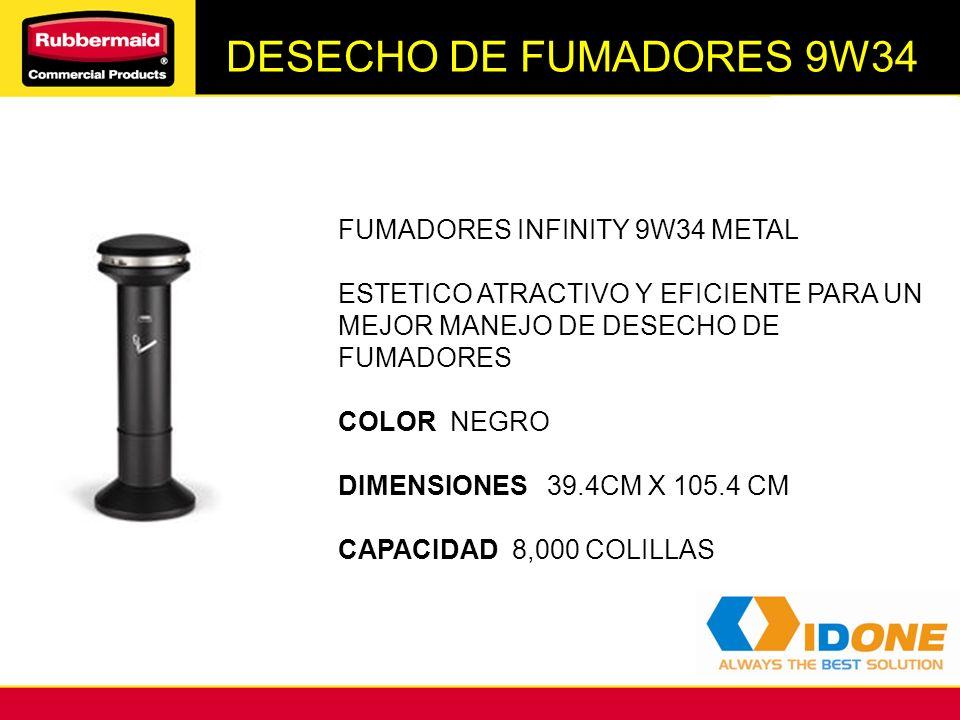 DESECHO DE FUMADORES 9W34 FUMADORES INFINITY 9W34 METAL