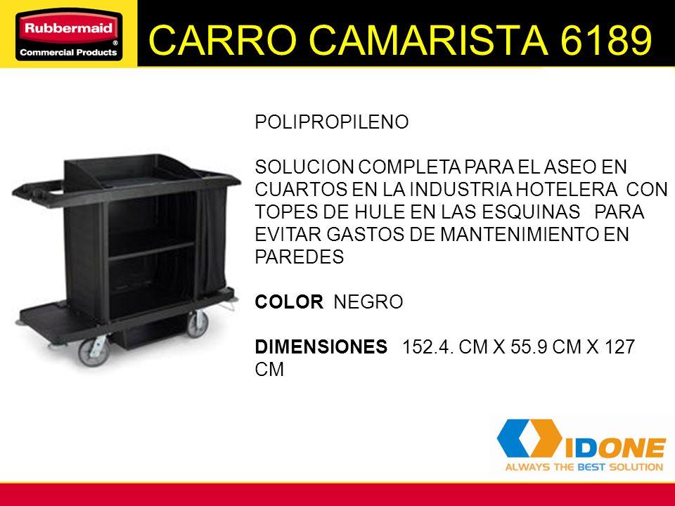 CARRO CAMARISTA 6189 POLIPROPILENO