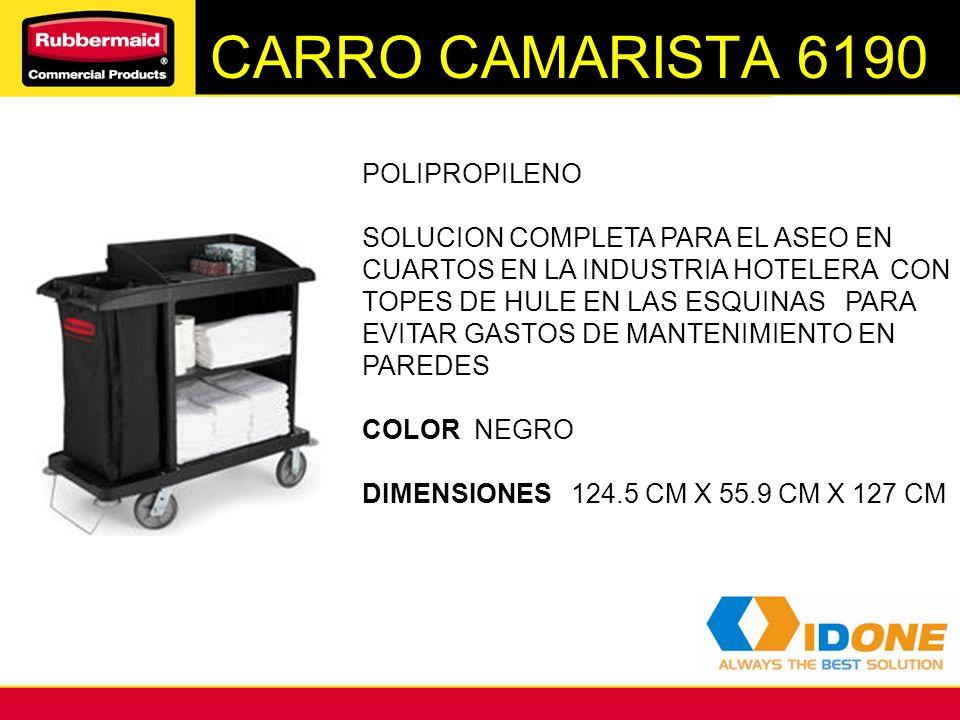 CARRO CAMARISTA 6190 POLIPROPILENO