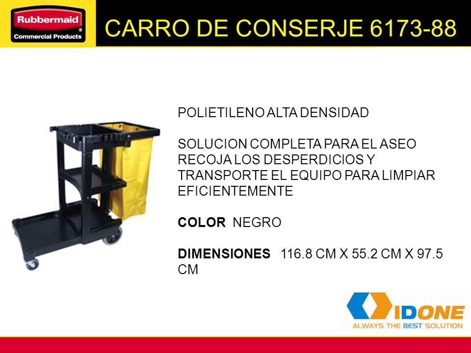 CARRO DE CONSERJE 6173-88 POLIETILENO ALTA DENSIDAD