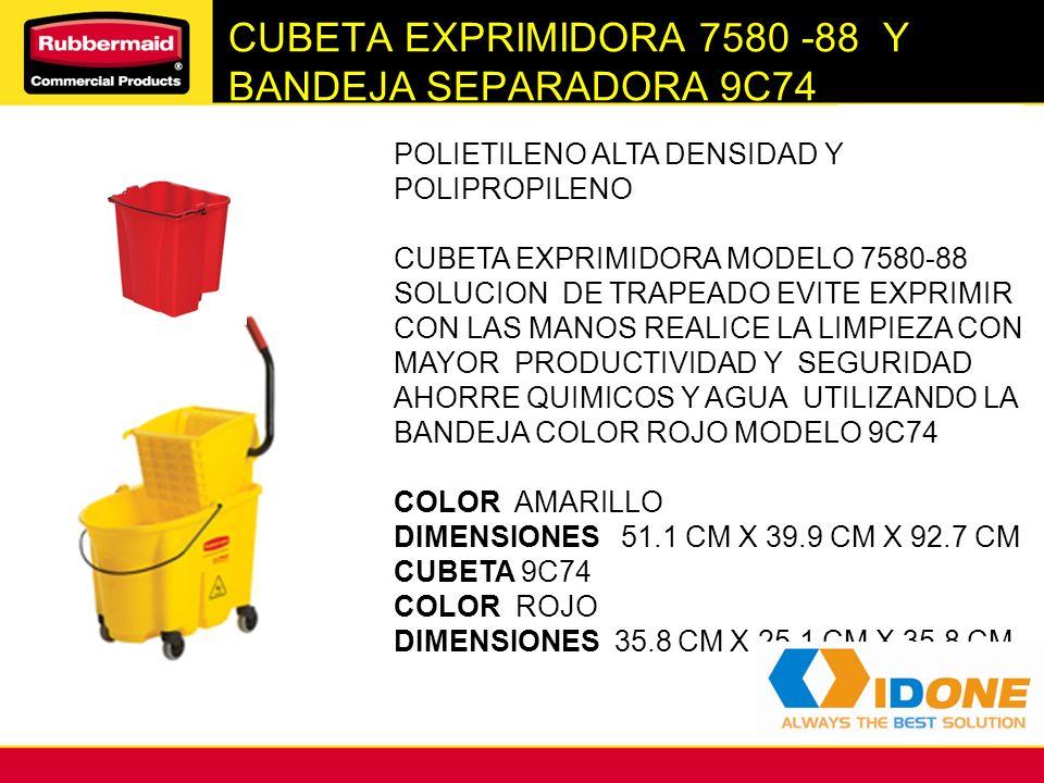 CUBETA EXPRIMIDORA 7580 -88 Y BANDEJA SEPARADORA 9C74