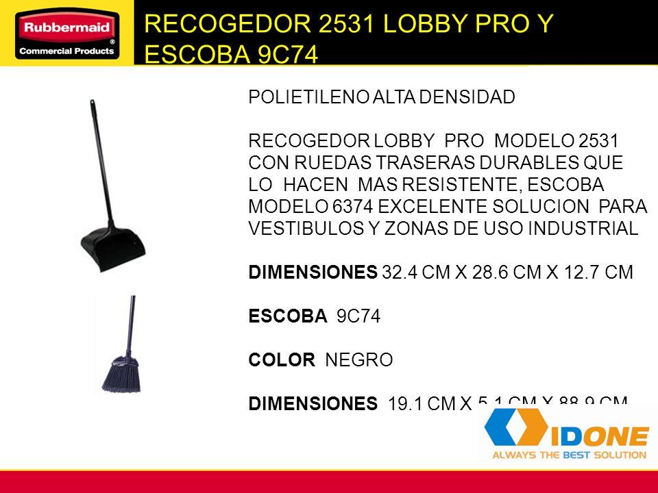 RECOGEDOR 2531 LOBBY PRO Y ESCOBA 9C74