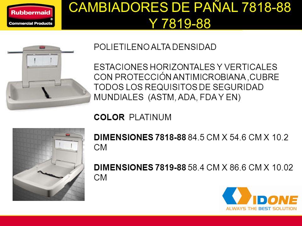 CAMBIADORES DE PAÑAL 7818-88 Y 7819-88