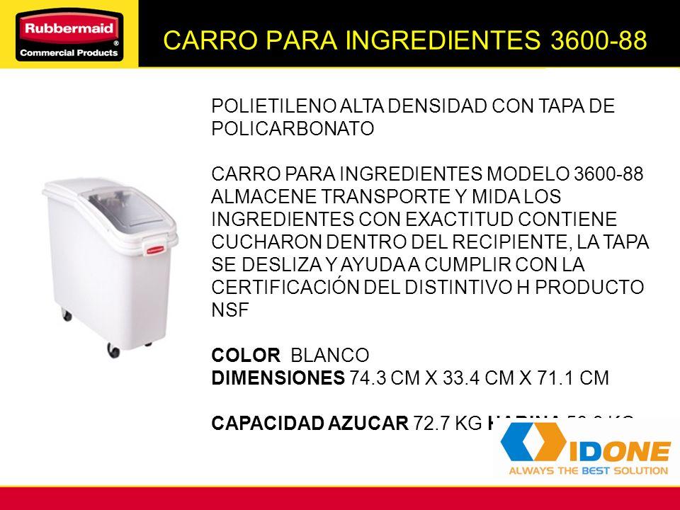 CARRO PARA INGREDIENTES 3600-88