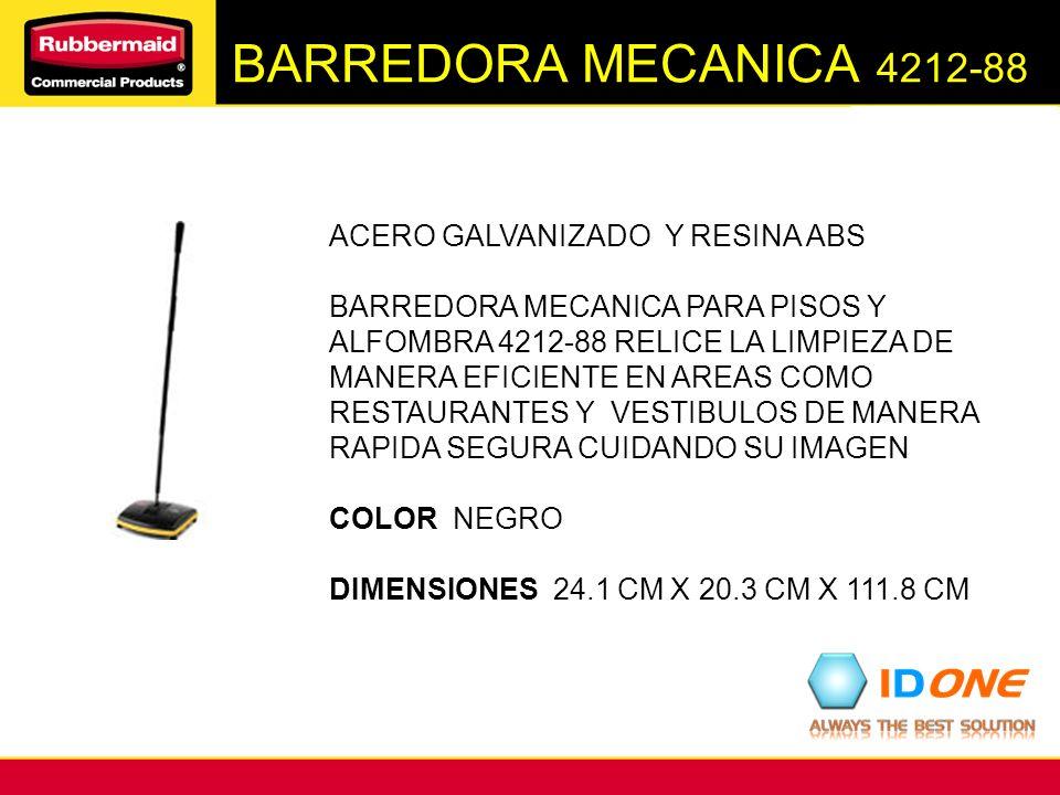 BARREDORA MECANICA 4212-88 ACERO GALVANIZADO Y RESINA ABS