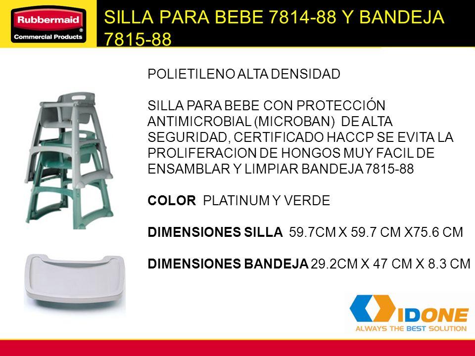 SILLA PARA BEBE 7814-88 Y BANDEJA 7815-88