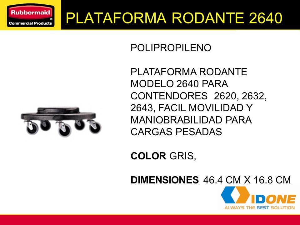 PLATAFORMA RODANTE 2640 POLIPROPILENO