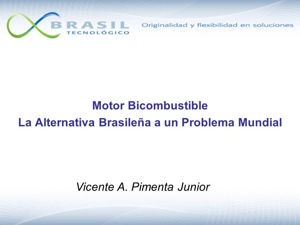 Motor Bicombustible La Alternativa Brasileña a un Problema Mundial