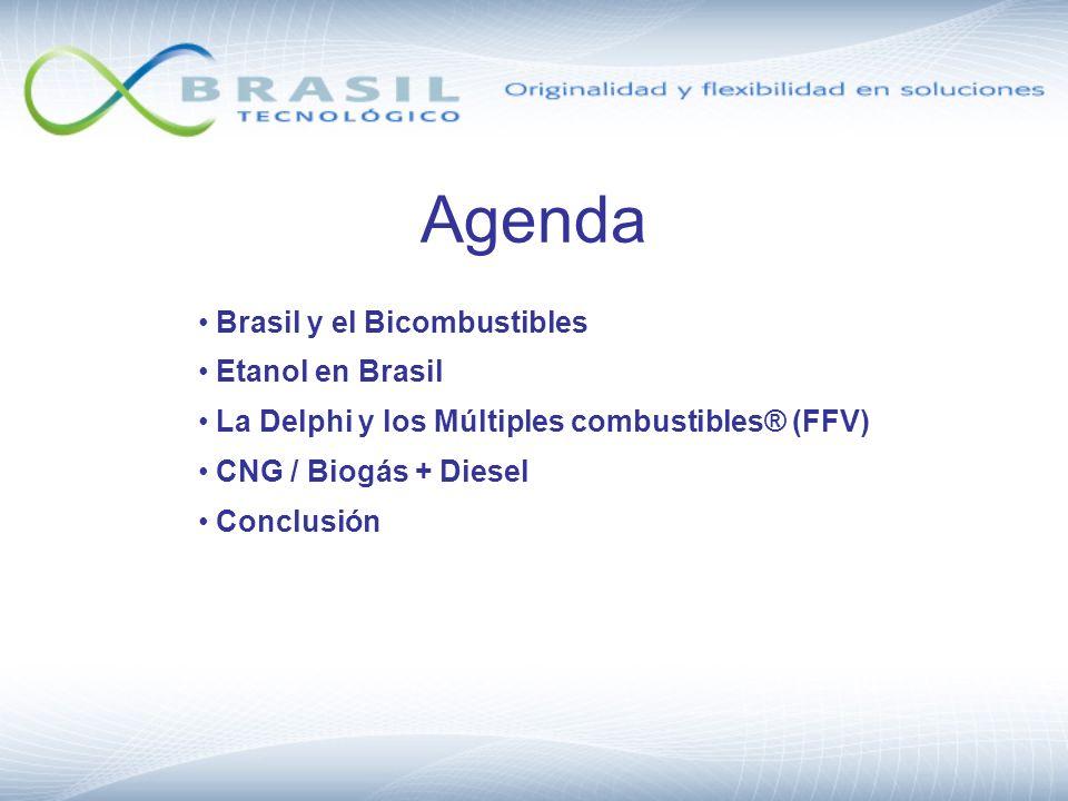 Agenda Brasil y el Bicombustibles Etanol en Brasil