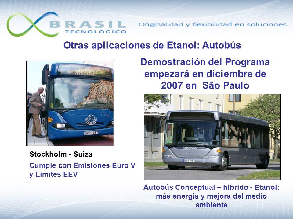 Demostración del Programa empezará en diciembre de 2007 en São Paulo