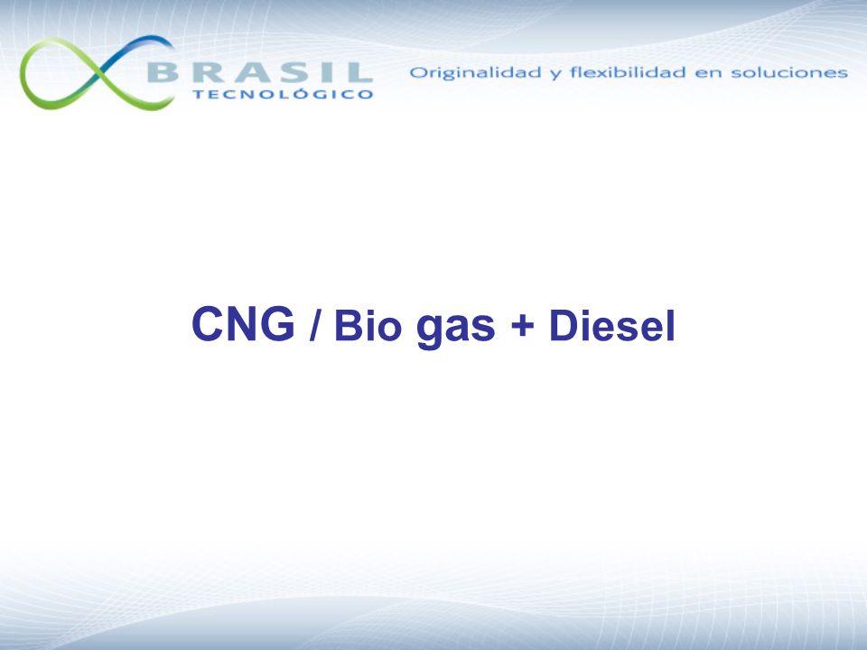 CNG / Bio gas + Diesel