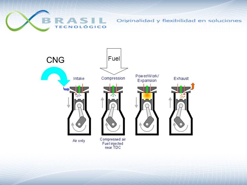 CNG Diesel System Principle