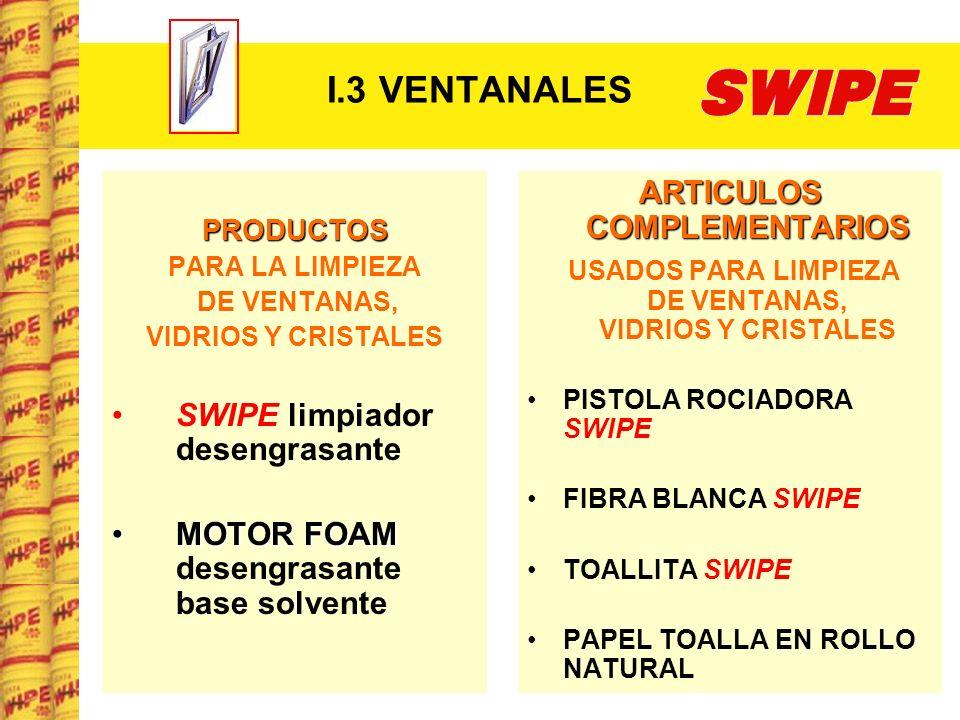 I.3 VENTANALES ARTICULOS COMPLEMENTARIOS