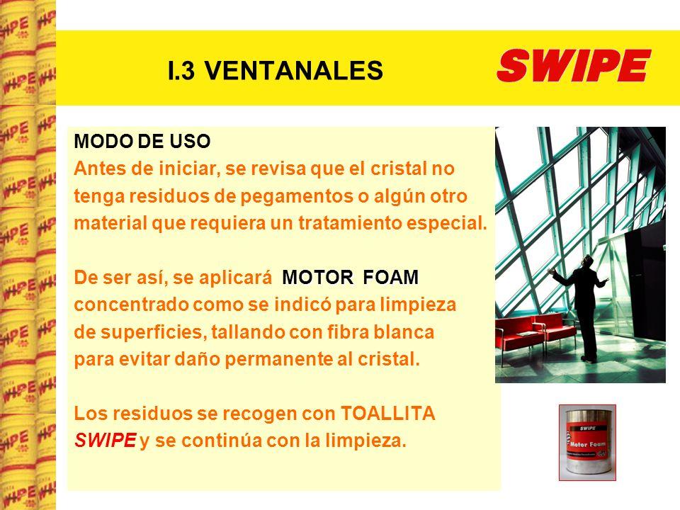 I.3 VENTANALES MODO DE USO