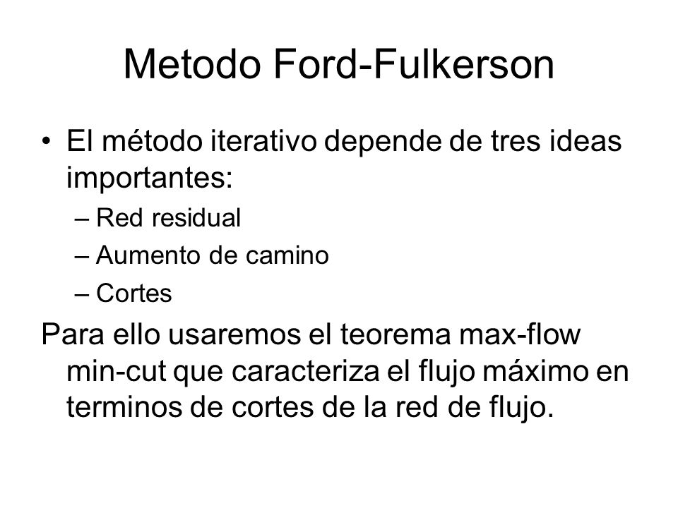 Metodo Ford-Fulkerson