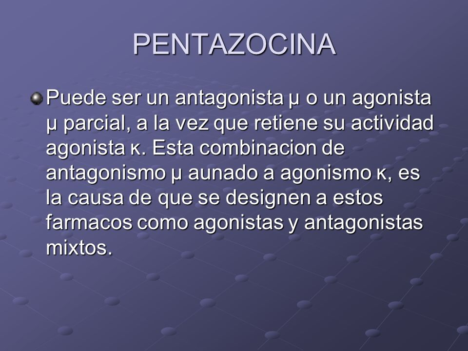 PENTAZOCINA