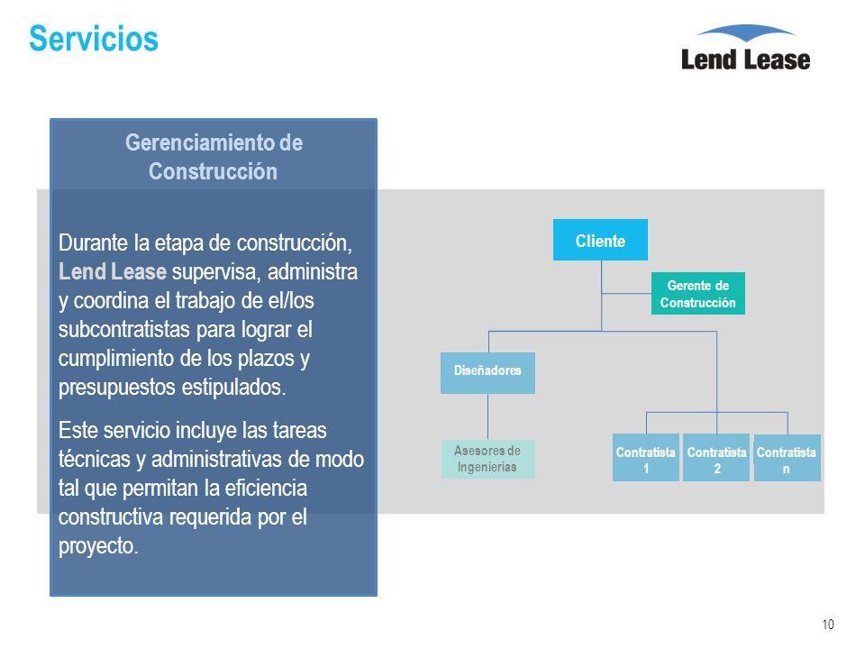Proyectos industriales servicios de construcci n ppt for Servicios de construccion