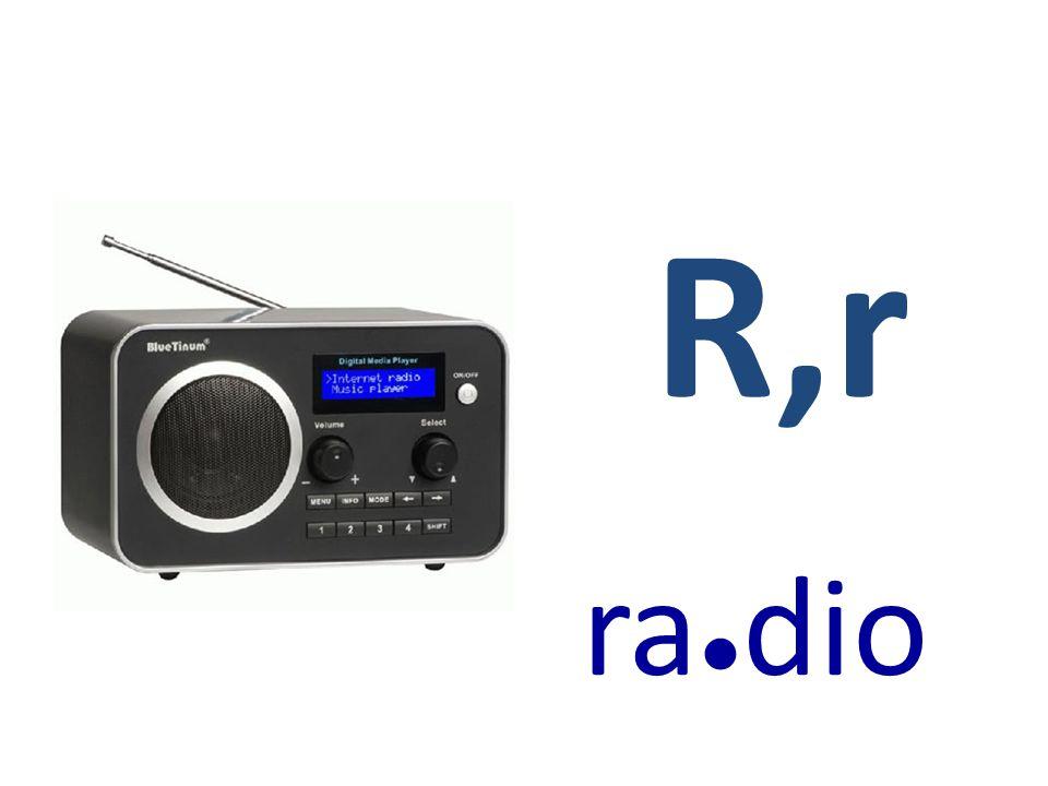 R,r ra●dio