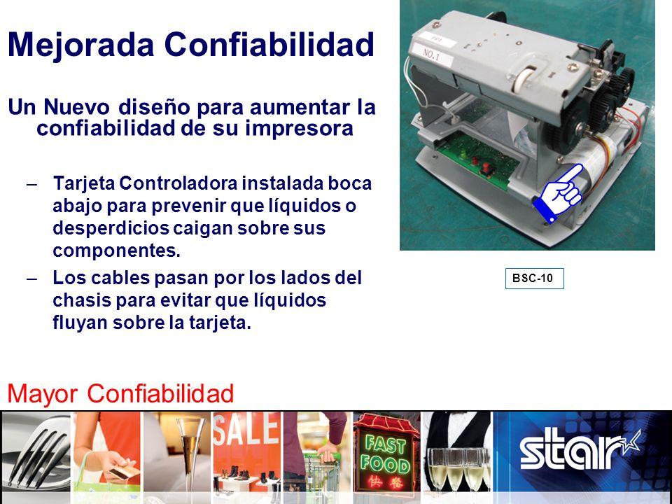 Un Nuevo diseño para aumentar la confiabilidad de su impresora