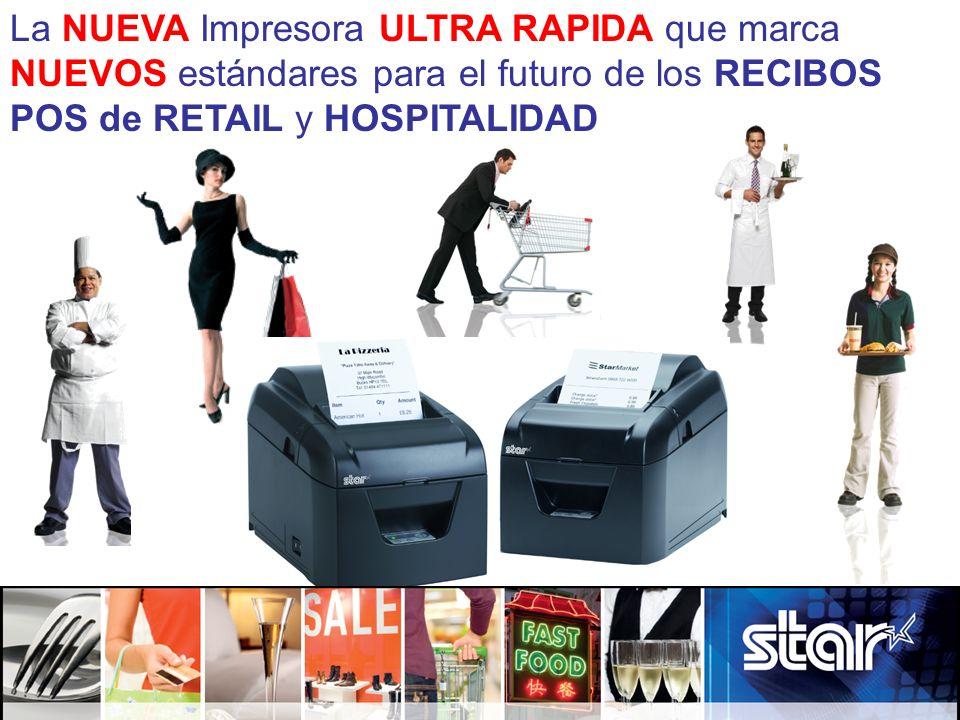La NUEVA Impresora ULTRA RAPIDA que marca NUEVOS estándares para el futuro de los RECIBOS POS de RETAIL y HOSPITALIDAD