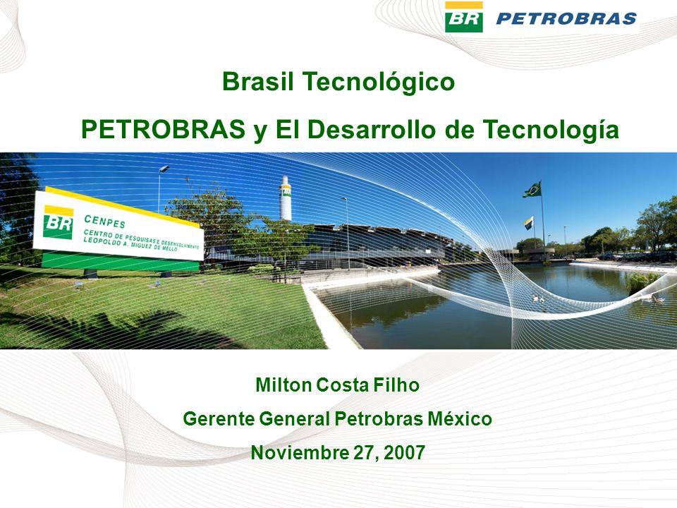 Gerente General Petrobras México