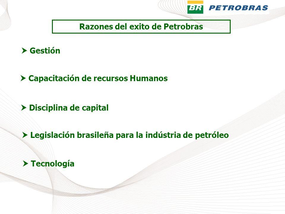 Razones del exito de Petrobras