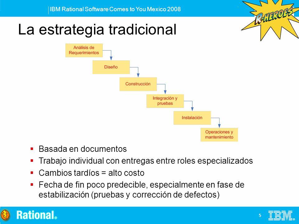 La estrategia tradicional