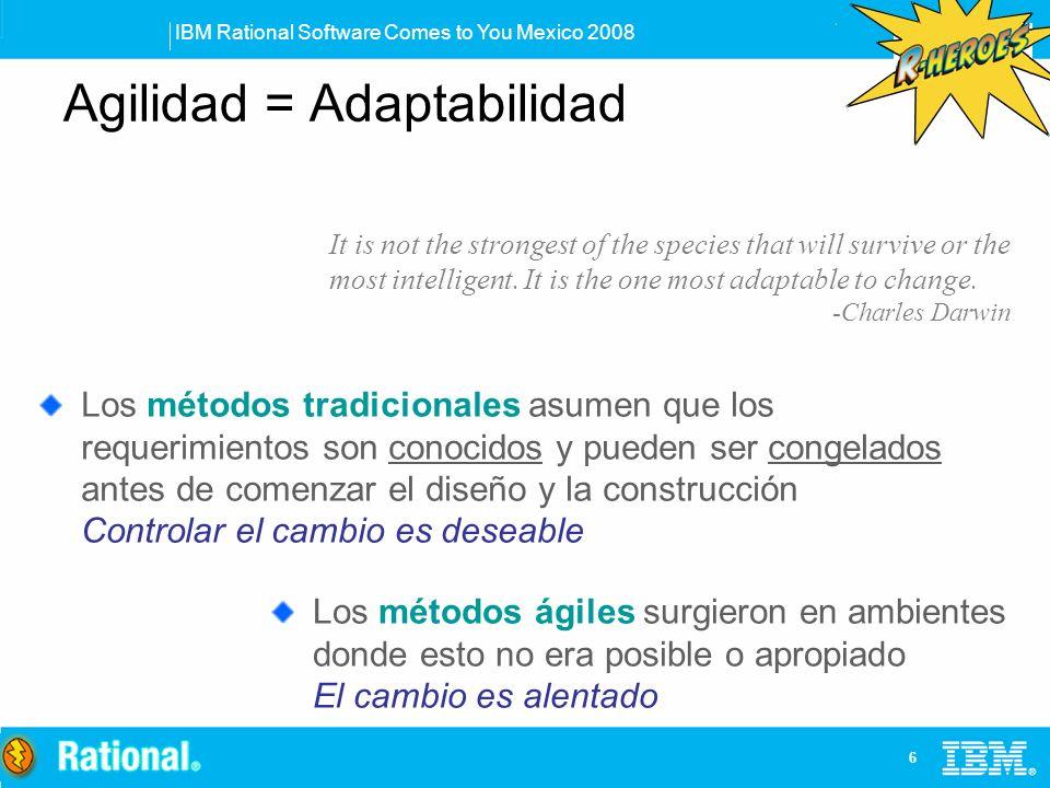 Agilidad = Adaptabilidad