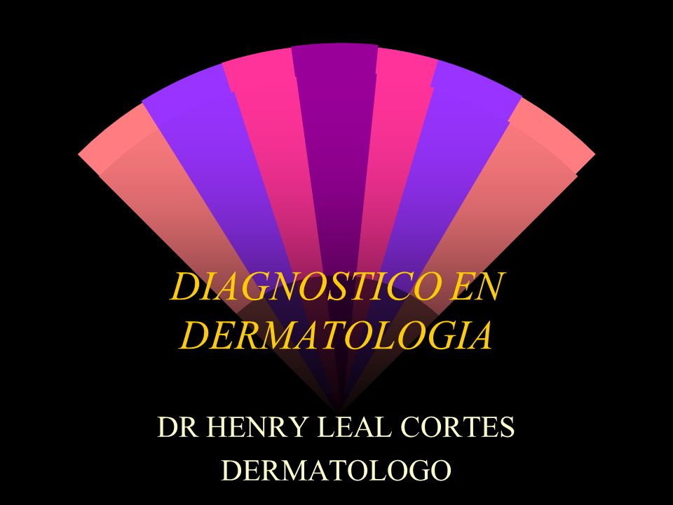 DIAGNOSTICO EN DERMATOLOGIA