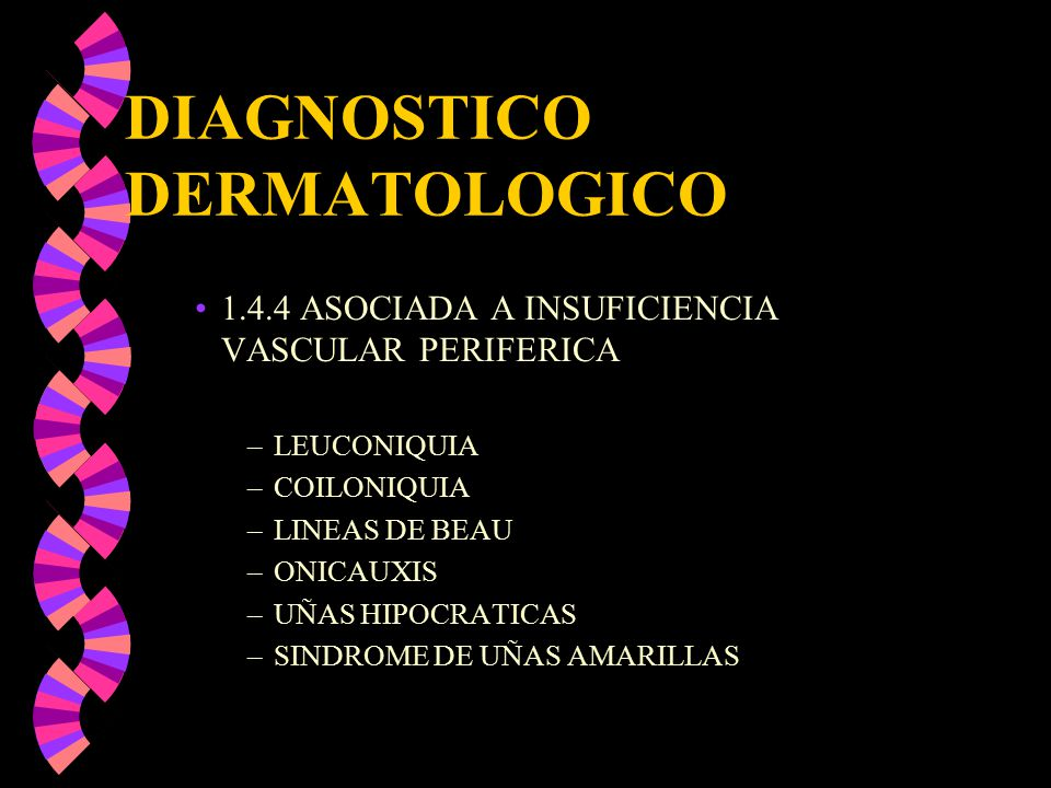DIAGNOSTICO DERMATOLOGICO