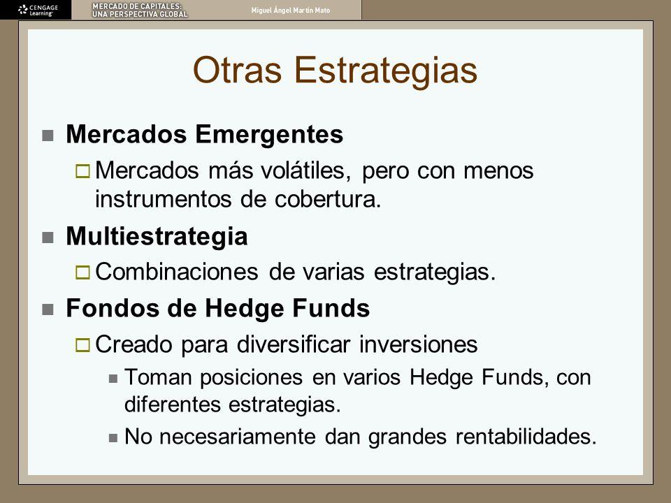Otras Estrategias Mercados Emergentes Multiestrategia