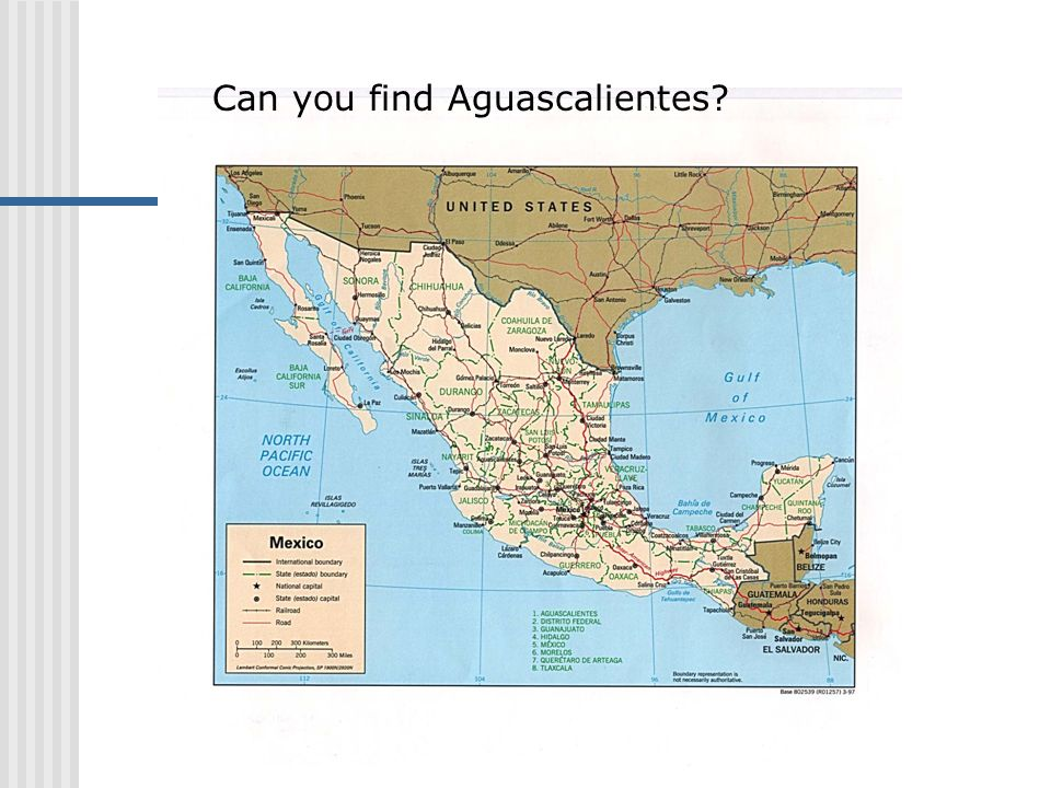 Can you find Aguascalientes