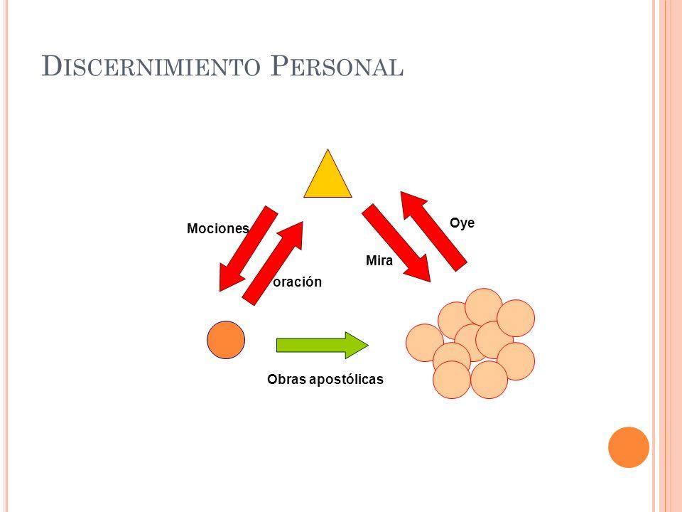 Discernimiento Personal