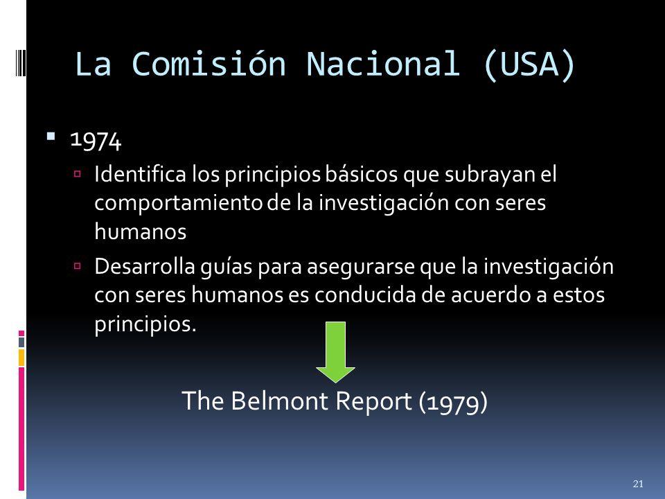 La Comisión Nacional (USA)