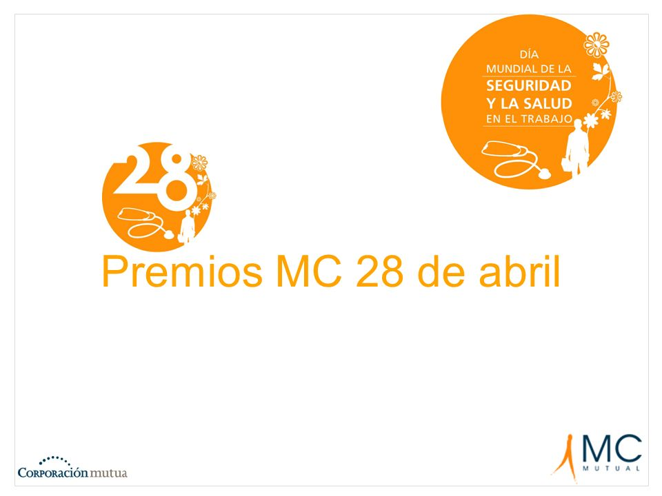 Premios MC 28 de abril
