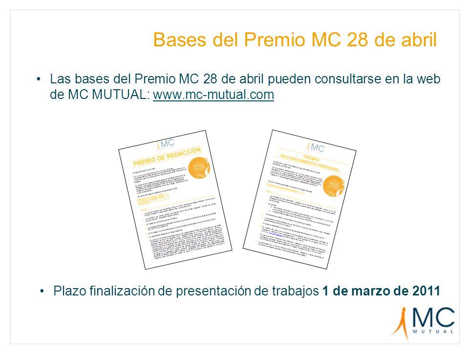 Bases del Premio MC 28 de abril