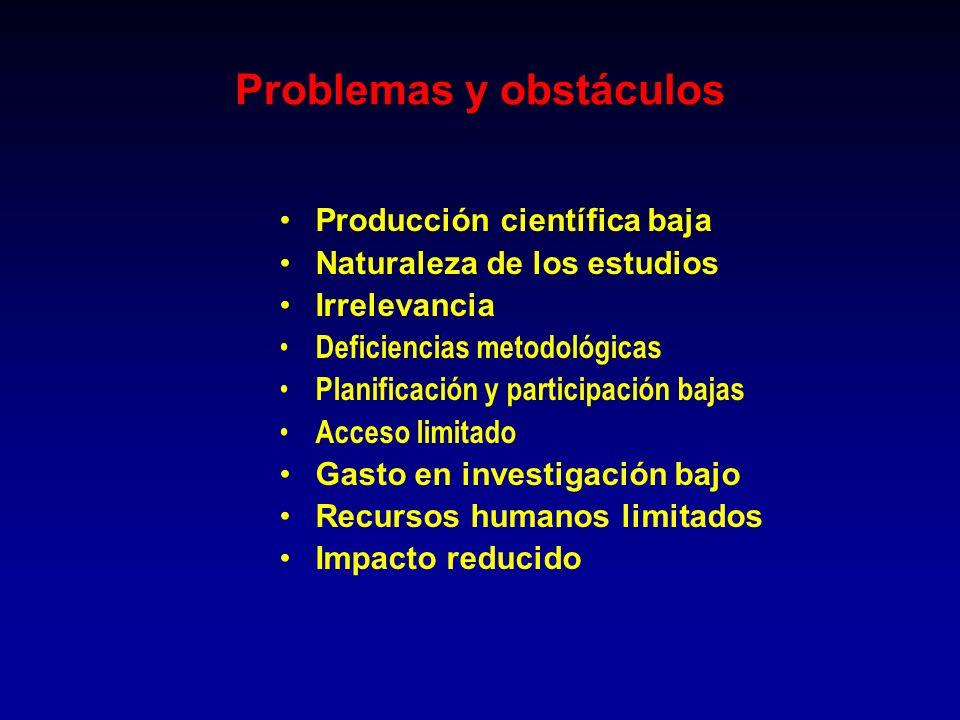 Problemas y obstáculos